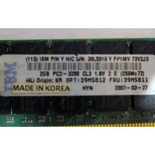 IBM 39M5811 39M5812 2Gb (2048Mb) DDR2 ECC Reg memory (Клин)
