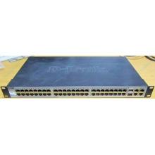 Управляемый коммутатор D-link DES-1210-52 48 port 10/100Mbit + 4 port 1Gbit + 2 port SFP металлический корпус (Клин)