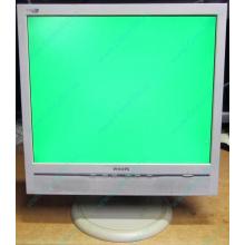 """Б/У монитор 17"""" Philips 170B с колонками и USB-хабом в Клине, белый (Клин)"""